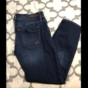 Gently worn crop jeans